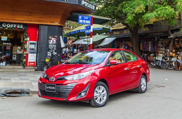 Giá xe ôtô hôm nay 1/10: Toyota Vios dao động từ 470 - 570 triệu đồng