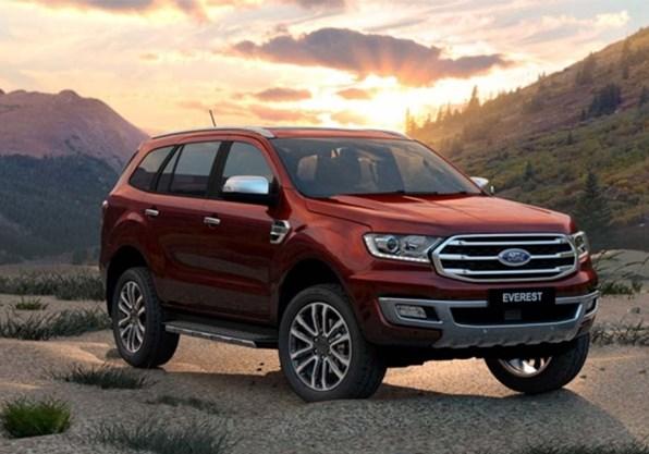 Giá xe ôtô hôm nay 14/10: Ford Everest ưu đãi từ 20 - 75 triệu đồng
