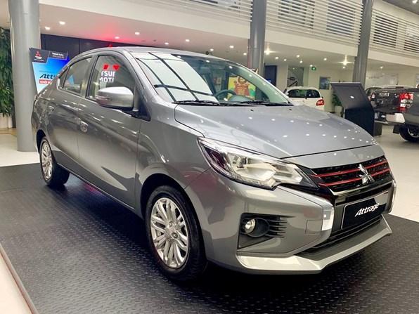 Giá xe ôtô hôm nay 16/10: Mitsubishi Attrage ưu đãi 50% phí trước bạ