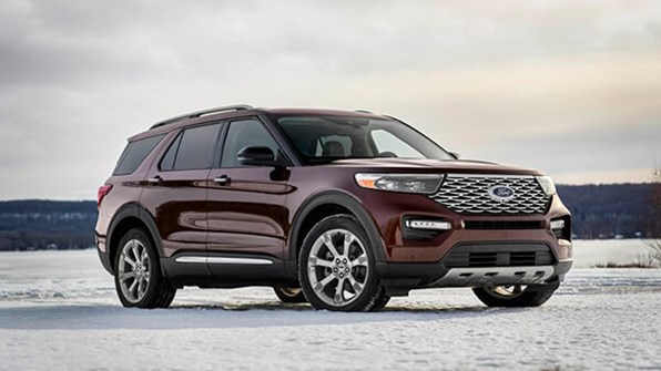 Giá xe ôtô hôm nay 17/10: Ford Explorer ưu đãi 45 triệu đồng