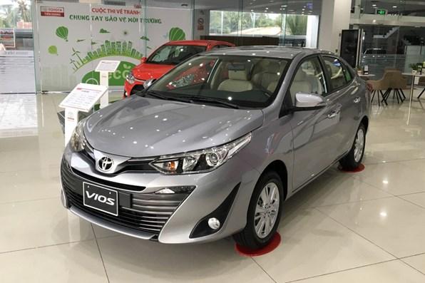 Giá xe ôtô hôm nay 13/11: Toyota Vios dao động từ 470 - 570 triệu đồng