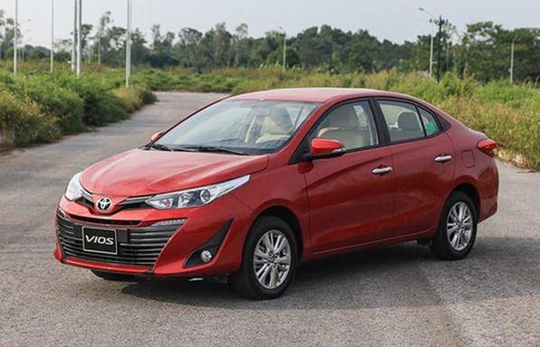 Giá xe ôtô hôm nay 2/12: Toyota Vios dao động từ 470 - 570 triệu đồng