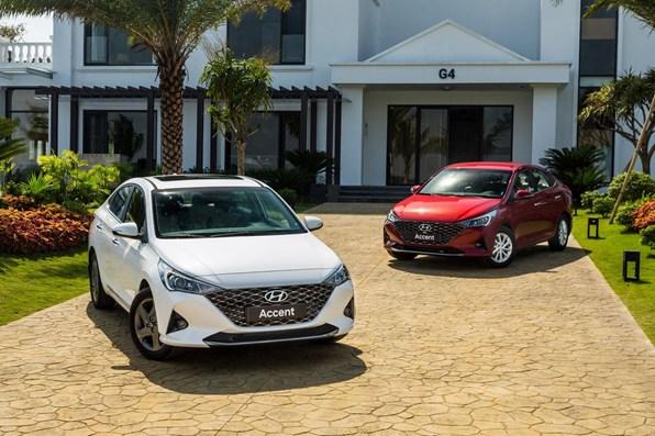 Giá xe ôtô hôm nay 4/12: Hyundai Accent ra mắt phiên bản nâng cấp