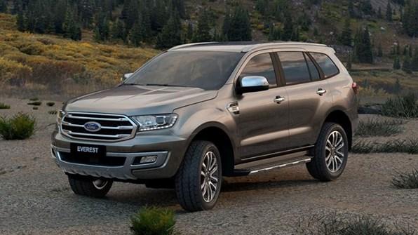 Giá xe ôtô hôm nay 9/12: Ford Everest ưu đãi đến 75 triệu đồng