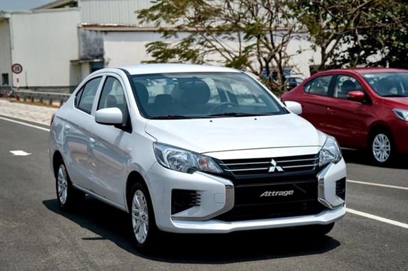 Giá xe ôtô hôm nay 21/12: Mitsubishi Attrage ở mức 375-460 triệu đồng