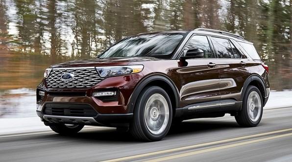Giá xe ôtô hôm nay 25/12: Ford Explorer ưu đãi 45 triệu đồng