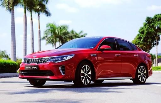 Giá xe ôtô hôm nay 30/12: Kia Optima dao động từ 759 - 919 triệu đồng