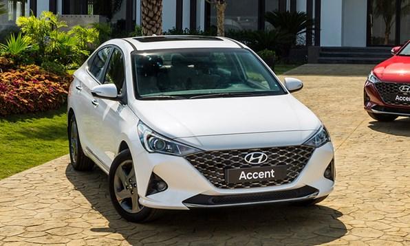 Giá xe ôtô hôm nay 2/1: Hyundai Accent dao động từ 426,1 - 542,1 triệu đồng