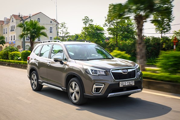 Hơn 600 xe Subaru Forester tại Việt Nam bị triệu hồi
