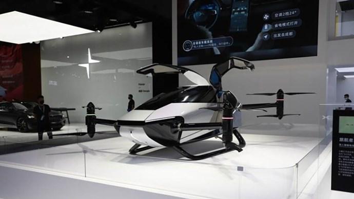 XPeng Motors giới thiệu mẫu xe bay Voyager X2 độc đáo