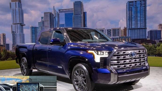 Hệ thống thông tin giải trí Toyota Tundra 2022: Thật tuyệt vời