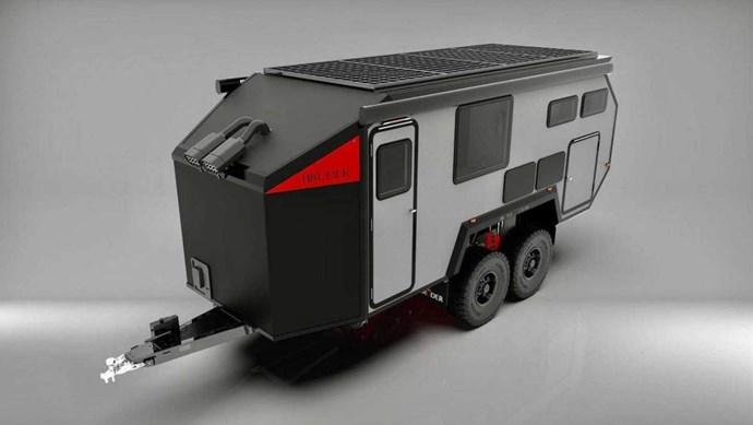 Bruder giới thiệu mẫu xe kéo cắm trại EXP-8 độc đáo
