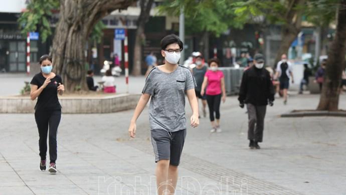 Từ 28/9: Hà Nội cho phép hoạt động trở lại thể dục thể thao ngoài trời, trung tâm thương mại