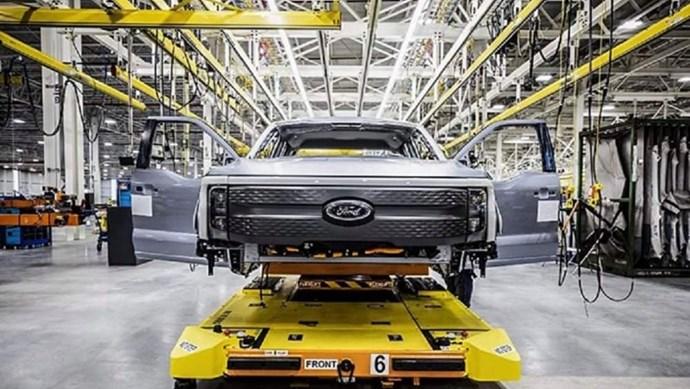 Ford và nhà sản xuất pin SK Innovation chi 11,4 tỷ USD để sản xuất pin và xe điện F-Series