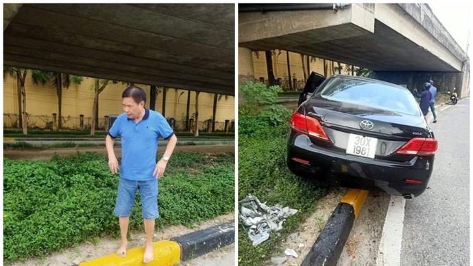 [Clip] Ô tô Camry tông xe máy, kéo lê hàng trăm mét trên đường cao tốc Hà Nội – Bắc Giang