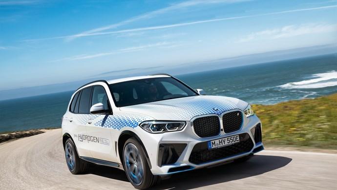 """BMW """"trình làng"""" xe điện chạy bằng nhiên liệu hydro"""